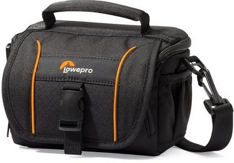 5a3f69a35f LOWEPRO - Adventura SH 110 II Shoulder Bag for Camcorder (Black)  FREE  SHIPPING