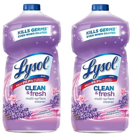 Clean & Fresh Multi Surface Cleaner Lavender & Orchid Scent 28oz (2-Pack) *FREE SHIPPING*