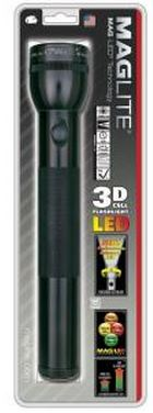 ST3D016 3-D Cell LED Flashlight - Black *FREE SHIPPING*