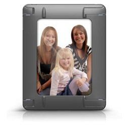 602956006619 SportShell Convertible iPad Case Plastic Rubber Black