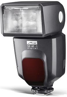 mecablitz 50 AF-1 Dedicated Digital Hot Shoe Flash For Sony Alpha & Minolta Maxxum *FREE SHIPPING*