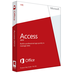 Access 2013 Key Card (No Disc)