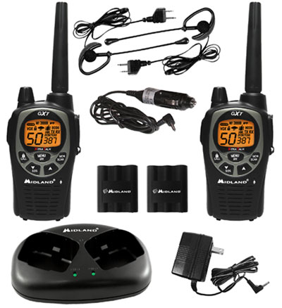 GXT1000VP4 36-Mile 50-Channel FRS/GMRS Two-Way Radio *FREE SHIPPING*