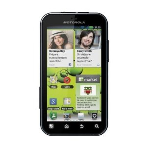 Motorola Defy + MB526 Unlocked GSM Phone with Android 2.3 OS, Touchscreen 5MP Camera Smartphone