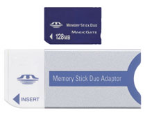 128mb Memory Stick Duo *FREE SHIPPING*