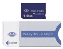 64mb Memory Stick Duo