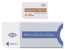 256mb Memory Stick Pro Duo *FREE SHIPPING*