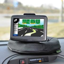 Nav-Mat Portable GPS Dash Mount (Works With Any Window Mounted GPS Device)
