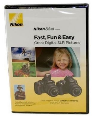 Nikon School DVD Fast Fun & Easy for D3000 & D5000 Digital SLR Cameras