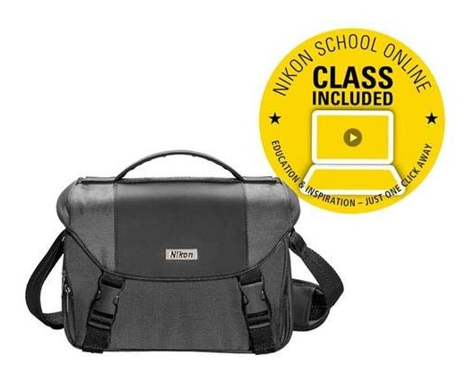 DSLR Value Pack - Travel Case + Nikon School Online Class *FREE SHIPPING*