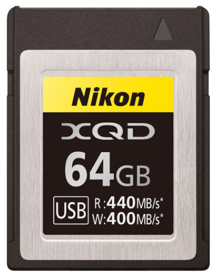 64GB G Series XQD Memory Card *FREE SHIPPING*