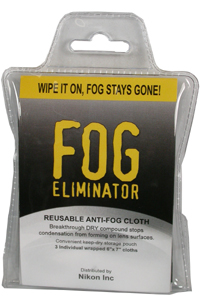 Fog Eliminator Cloths (3 Pack)