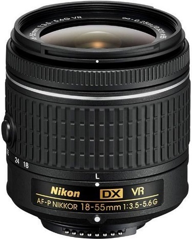 AF-P DX 18-55mm F/3.5-5.6G VR Zoom Lens For Digital SLRs (55mm) *FREE SHIPPING*