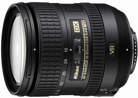 AF-S 16-85/3.5-5.6G ED DX VR (Vibration Reduction) Wide Angle Telephoto Zoom Lens (67mm) *FREE SHIPPING*