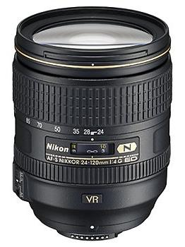 AF-S 24-120mm F/4G ED VR (Vibration Reduction) Zoom Lens *FREE SHIPPING*