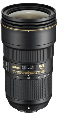 AF-S 24-70mm f/2.8E ED VR NIKKOR Zoom Lens *FREE SHIPPING*