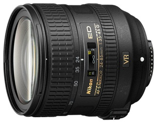 AF-S 24-85mm f/3.5-4.5G ED VR Wide Angle Telephoto Zoom Lens  *FREE SHIPPING*