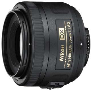 AF-S DX 35/1.8G Nikkor Wide Angle Lens (52mm) *FREE SHIPPING*