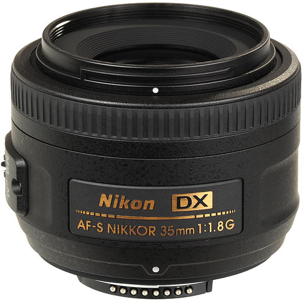 AF-S DX 35/1.8G Nikkor Wide Angle Lens (52mm) *FREE SHIPPING*