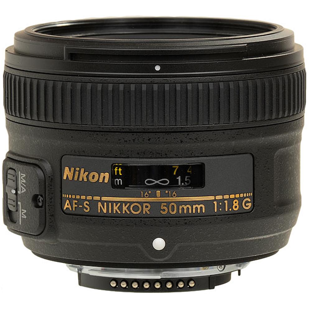 AF-S 50/1.8G Nikkor Standard Lens (58mm) *FREE SHIPPING*