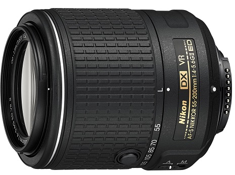 AF-S 55-200mm F/4-5.6G ED IF DX VR II Zoom Lens *FREE SHIPPING*