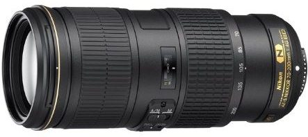 AF-S 70-200/4.0G ED-IF VR Vibration Reduction Telephoto Zoom Lens (67mm) *FREE SHIPPING*