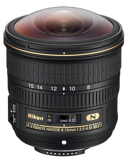 AF-S NIKKOR 8-15mm f/3.5-4.5E ED FISHEYE Lens *FREE SHIPPING*