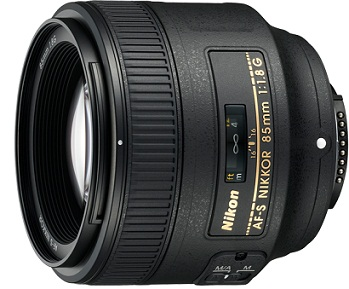 AF-S NIKKOR 85mm f/1.8G Medium Telephoto Lens *FREE SHIPPING*