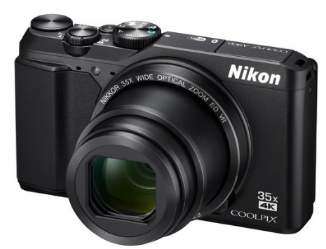 Coolpix A900 20.2 MP, 35x Optical Zoom, 3-Inch Tilting Hi-Res LCD Digital Camera - Black *FREE SHIPPING*