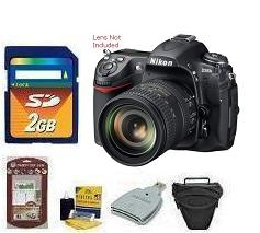 D300s Digital SLR Camera Body • 2GB Memory Card• Camera/Lens Cleaning Kit• LCD Screen Protectors• Memory Card Reader• Deluxe SLR Carrying Case *FREE SHIPPING*