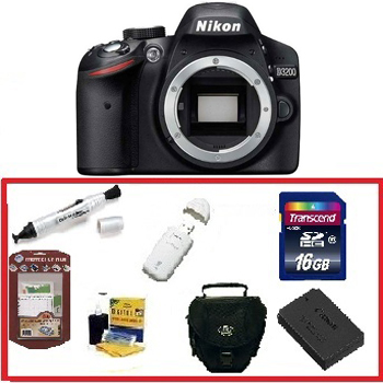 how to clean a nikon d3200 camera