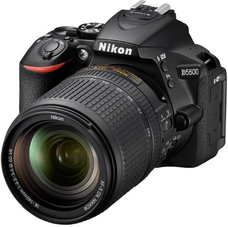 D5600 24.2 Megapixel, 3.2 Inch Vari-Angle TouchScreen Digital SLR Camera with AF-S 18-140mm VR Zoom Lens Kit - Black *FREE SHIPPING*