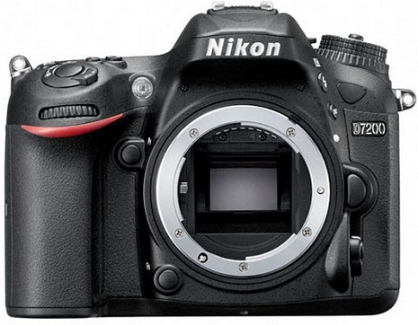 D7200 24.2 Megapixel, 3.2 Inch LCD , Full HD Video, Built-In WiFi DSLR Body Only *FREE SHIPPING*