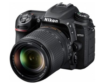 D7500 20.9 Megapixel, 3.2 Inch LCD , Full HD Video, Built-In WiFi & BlueTooth w/18-140mm Lens Kit *FREE SHIPPING*