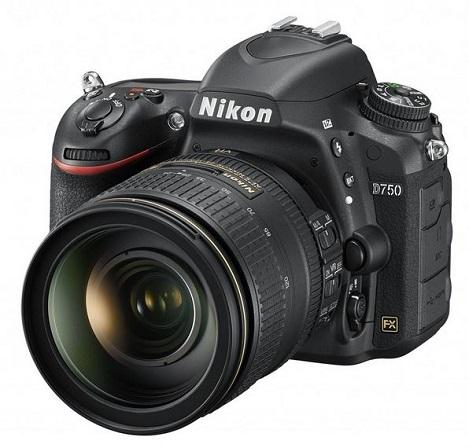 D750 24.3 Megapixel CMOS FX-Format, 3.2 Tilt LCD, Full HD Video w/AF-S 24-120mm VR Lens Kit *FREE SHIPPING*