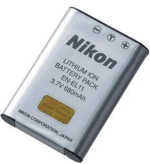 EN-EL11 Rechargeable Li-Ion Battery Pack For Select Coolpix Digital Cameras *FREE SHIPPING*