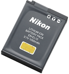 EN-EL12 Rechargeable Li-Ion Battery Pack For Select Coolpix Digital Cameras *FREE SHIPPING*