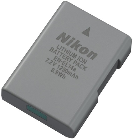 EN-EL14A Rechargeable Li-Ion Battery Pack *FREE SHIPPING*