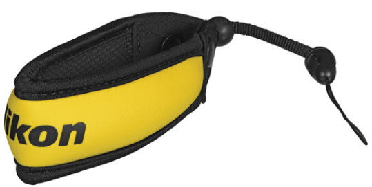Floating Strap for UW COOLPIX Cameras - Yellow *FREE SHIPPING*