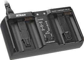 MH-22 Dual Quick Charger For EN-EL4/EN-EL4a  Batteries