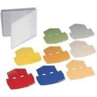 Sj-1 Color Filter Set, Eight Filter Light Balancing Set *FREE SHIPPING*