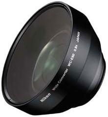 WC-E80 0.8x (28mm) Wide Angle Converter Lens F/Coolpix 5700 & 8700 Digital Cameras