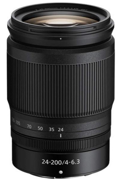 NIKKOR Z 24-200mm f/4-6.3 VR Lens *FREE SHIPPING*