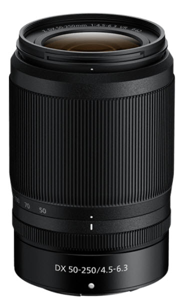 NIKKOR Z DX 50-250mm f/4.5-6.3 VR Zoom Lens *FREE SHIPPING*