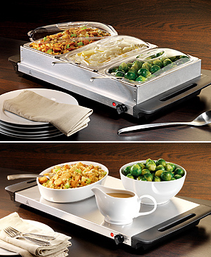 BCD-992 3 Section Buffet/ Warming Tray *FREE SHIPPING*