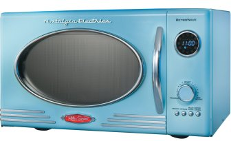 RMO-400BLUE Retro Series .9 CF Microwave Oven, Blue *FREE SHIPPING*