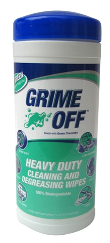 BET-0024 GRIME OFF Cleaning & Degreasing Wipes Canister Value Pack (12 Packs) *FREE SHIPPING*