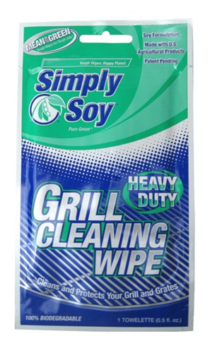 BET-0036 Simply Soy Grill Wipes Value Pack (12 Packs) *FREE SHIPPING*