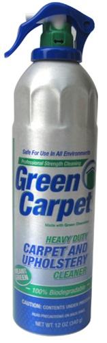BET-0039 Green Carpet Foaming Carpet Cleaner 12 oz *FREE SHIPPING*