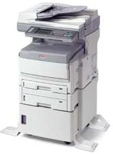 Mc860 Mfp Multifunction Color Printing Copying Scanning And Faxing With 2 Paper Trays